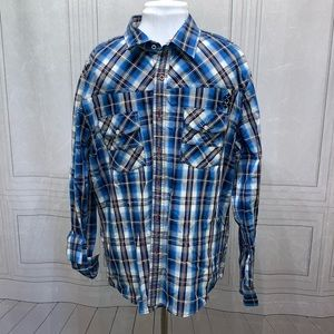 7 Diamonds Button Down Shirt XXL